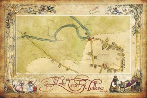 The official map of the village of Fox Hollow